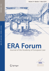 Foto: ERA Forum Volume 17 (2016) - Number 2.